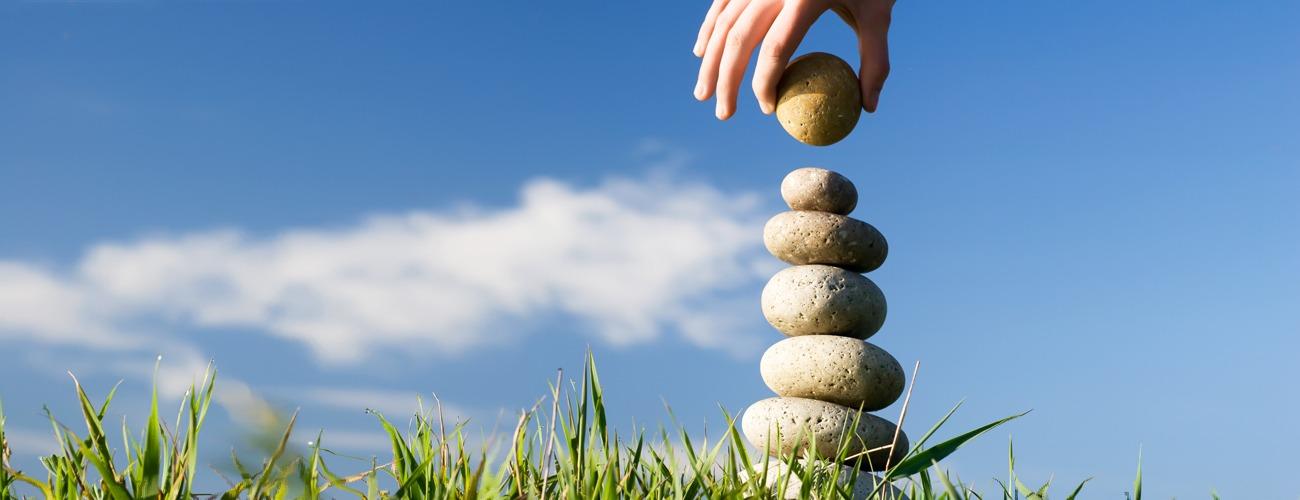 raggiungere equilibrio sentirsi bene